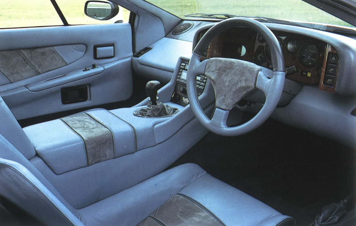 Lotus Esprit interior #1
