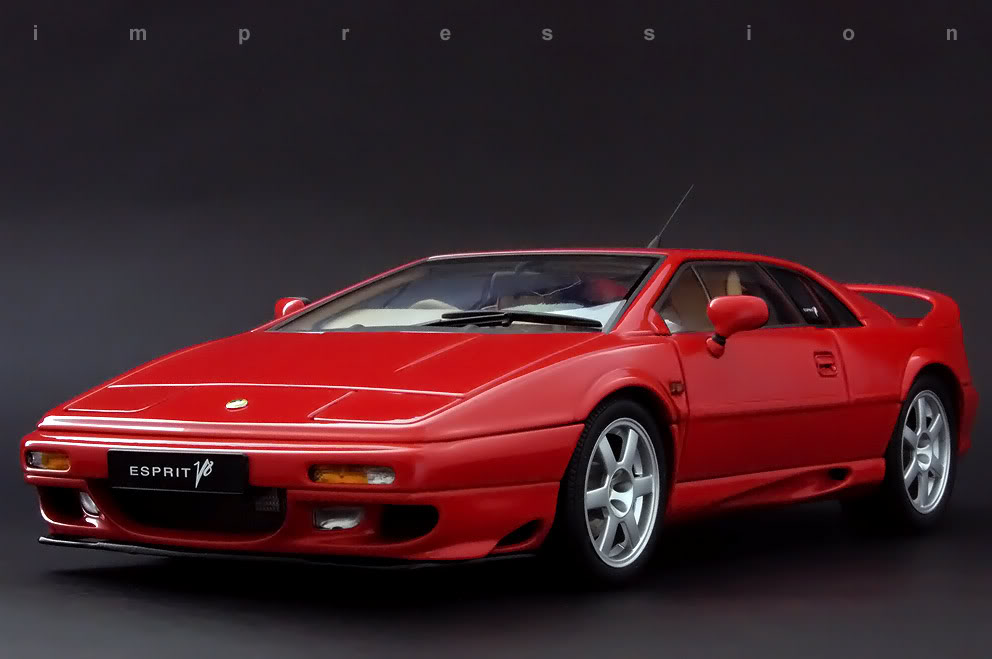 Lotus Esprit red #2
