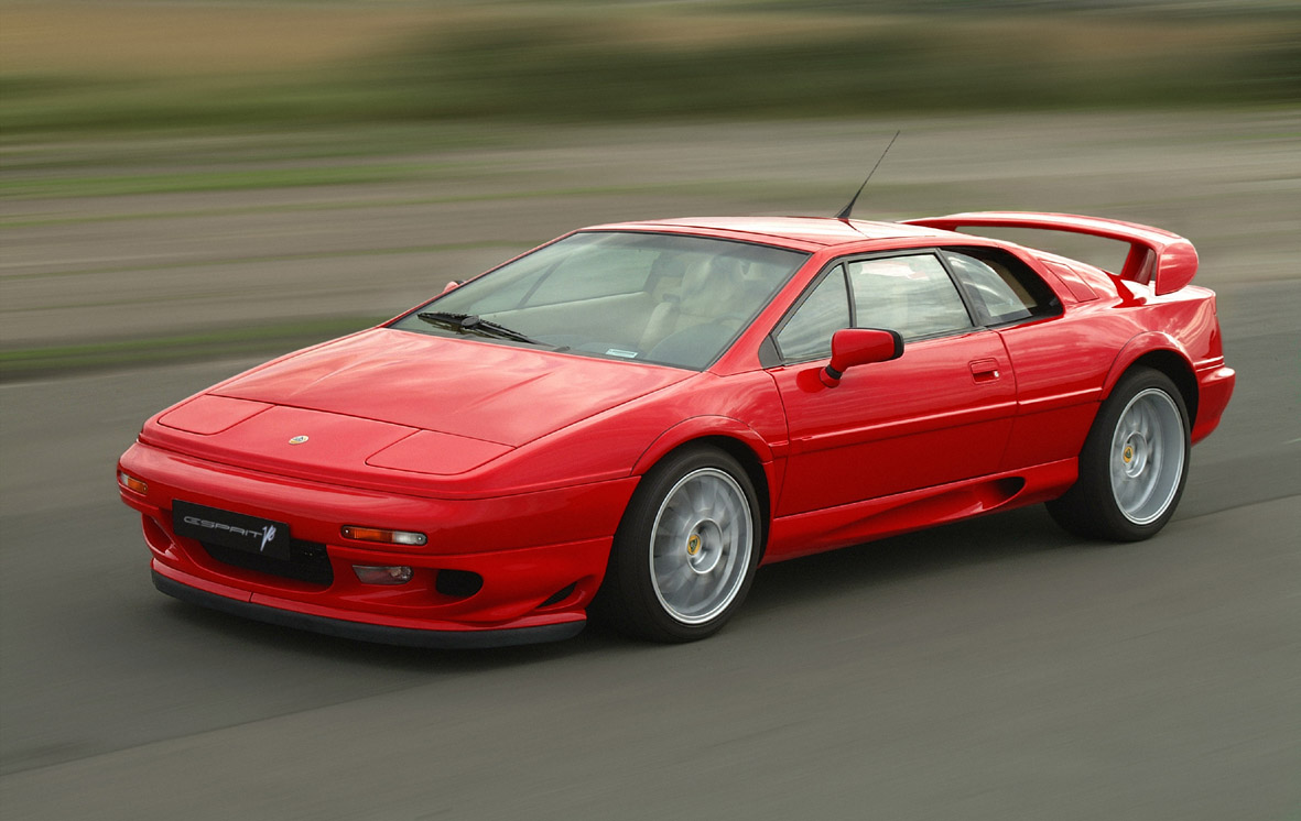 Lotus Esprit red #4