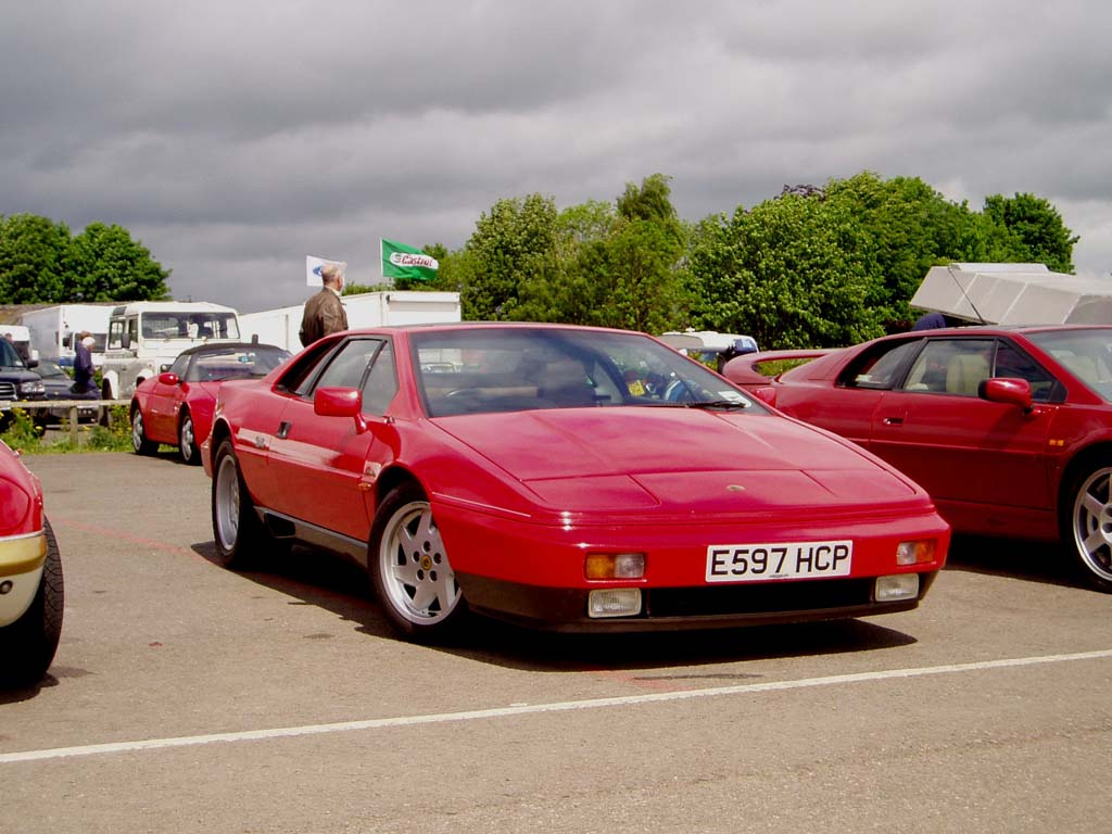 Lotus Esprit red #1