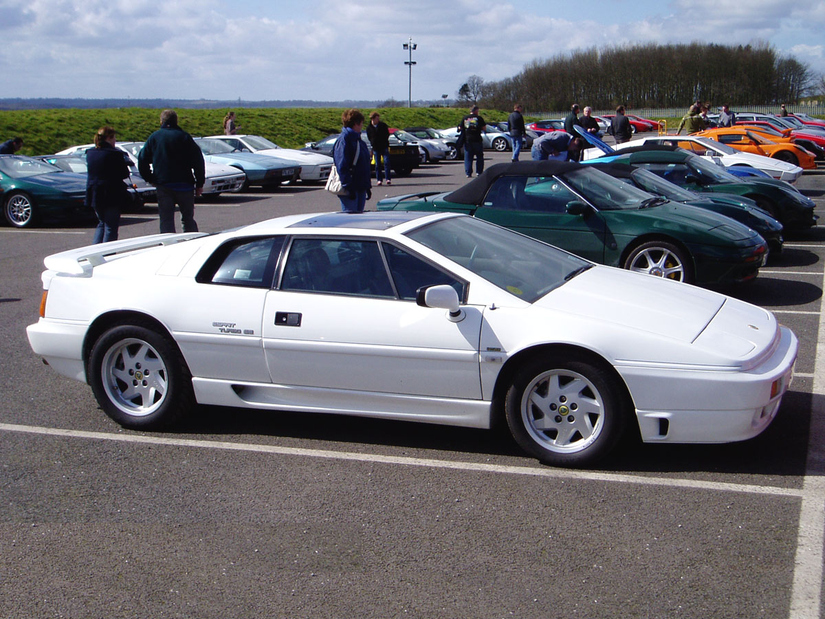 Lotus Esprit white #2