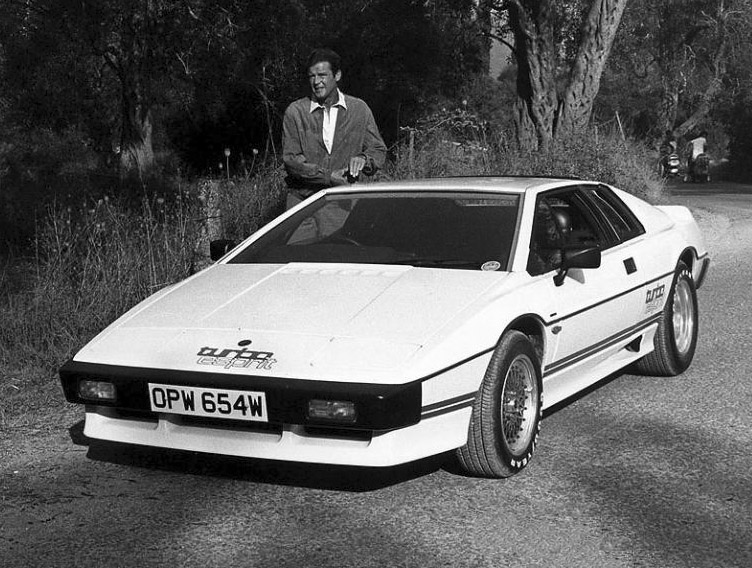 Lotus Esprit white #3