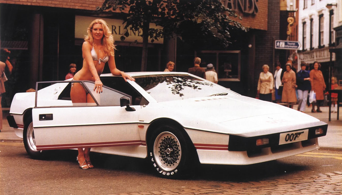 Lotus Esprit white #1