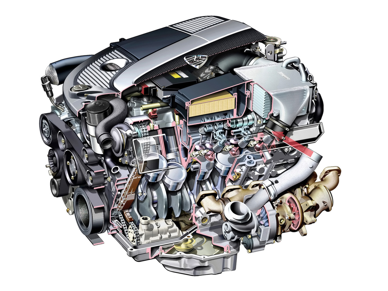 Maybach 62 engine #3