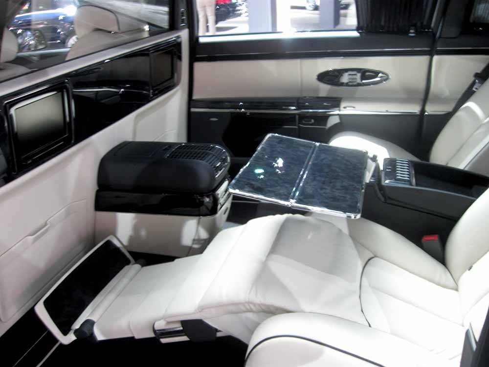 Maybach 62 interior #2