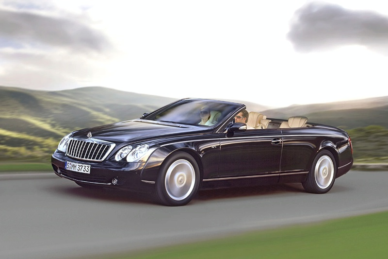 Maybach Landaulet black #3