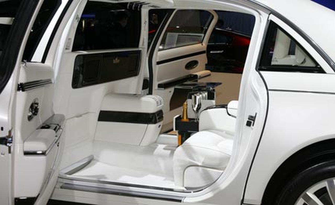 Maybach Landaulet interior #2
