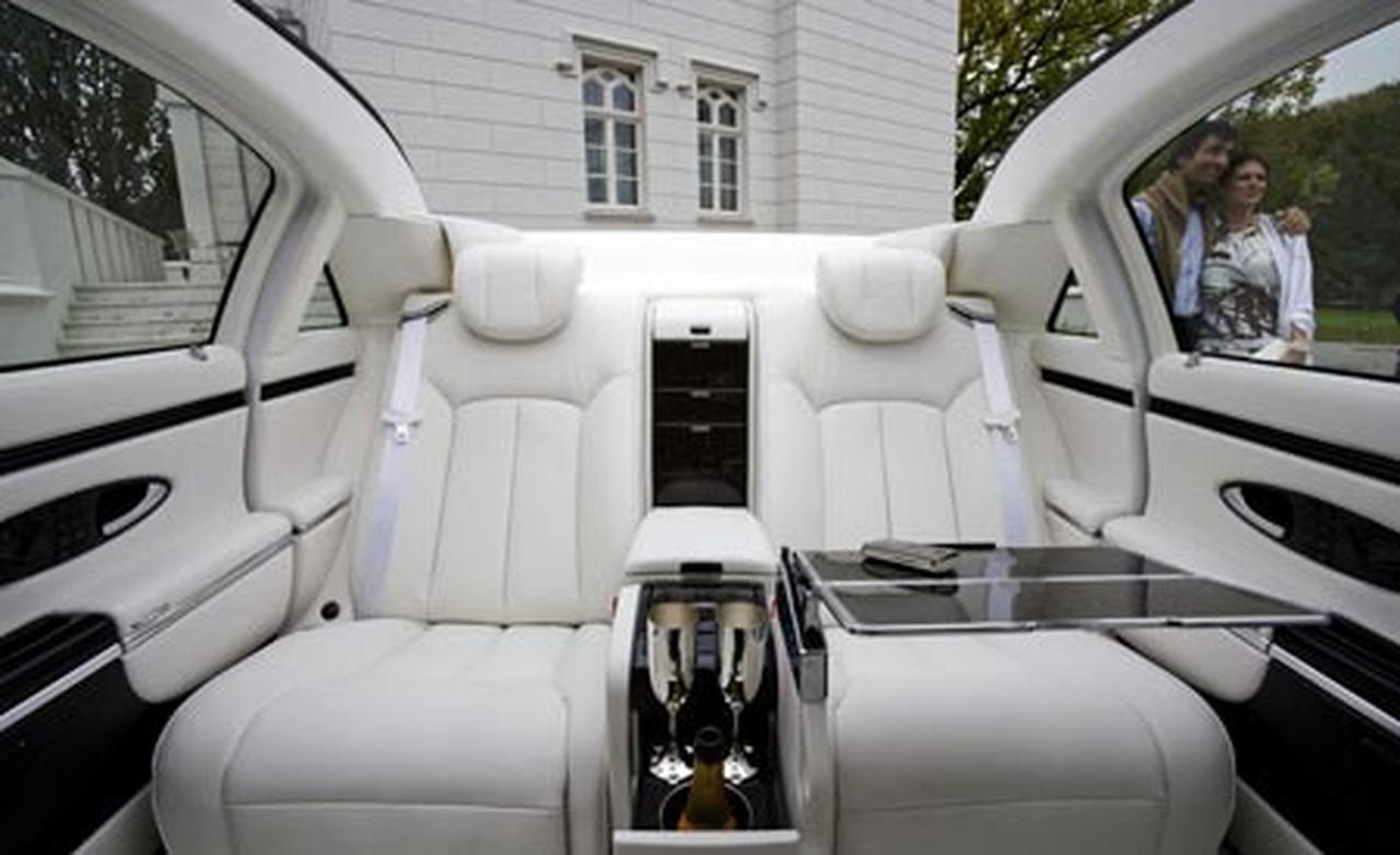 Maybach Landaulet interior #1