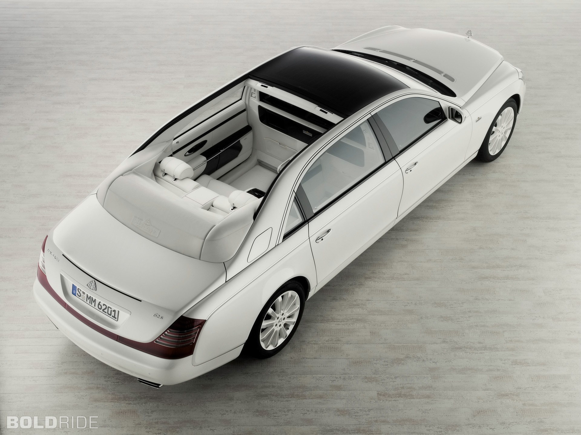 Maybach Landaulet red #4