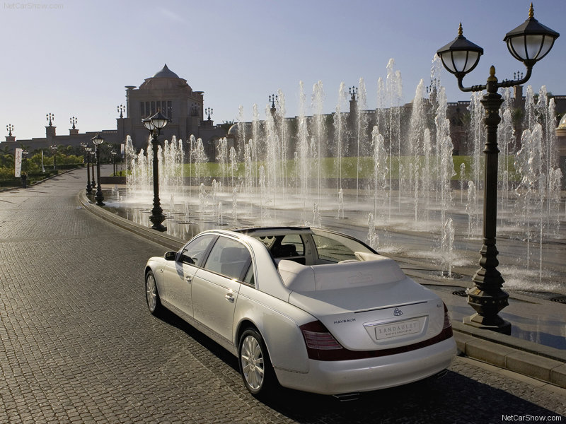 Maybach Landaulet white #2