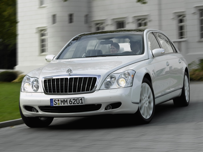 Maybach Landaulet white #3
