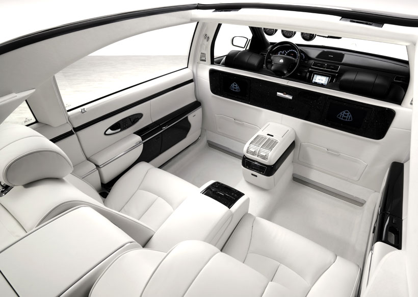 Maybach Landaulet white #1