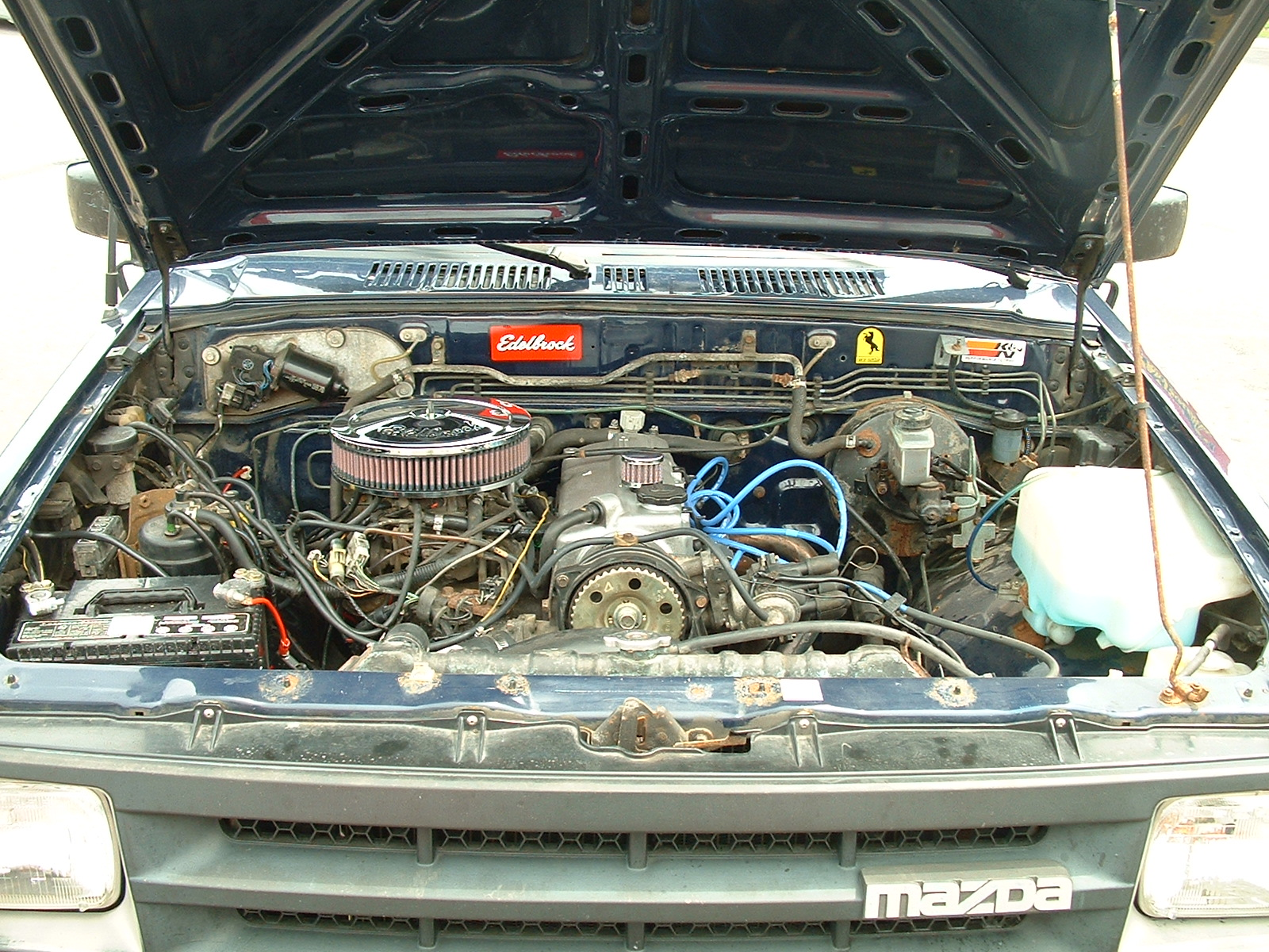 Mazda B-Series Pickup engine #2