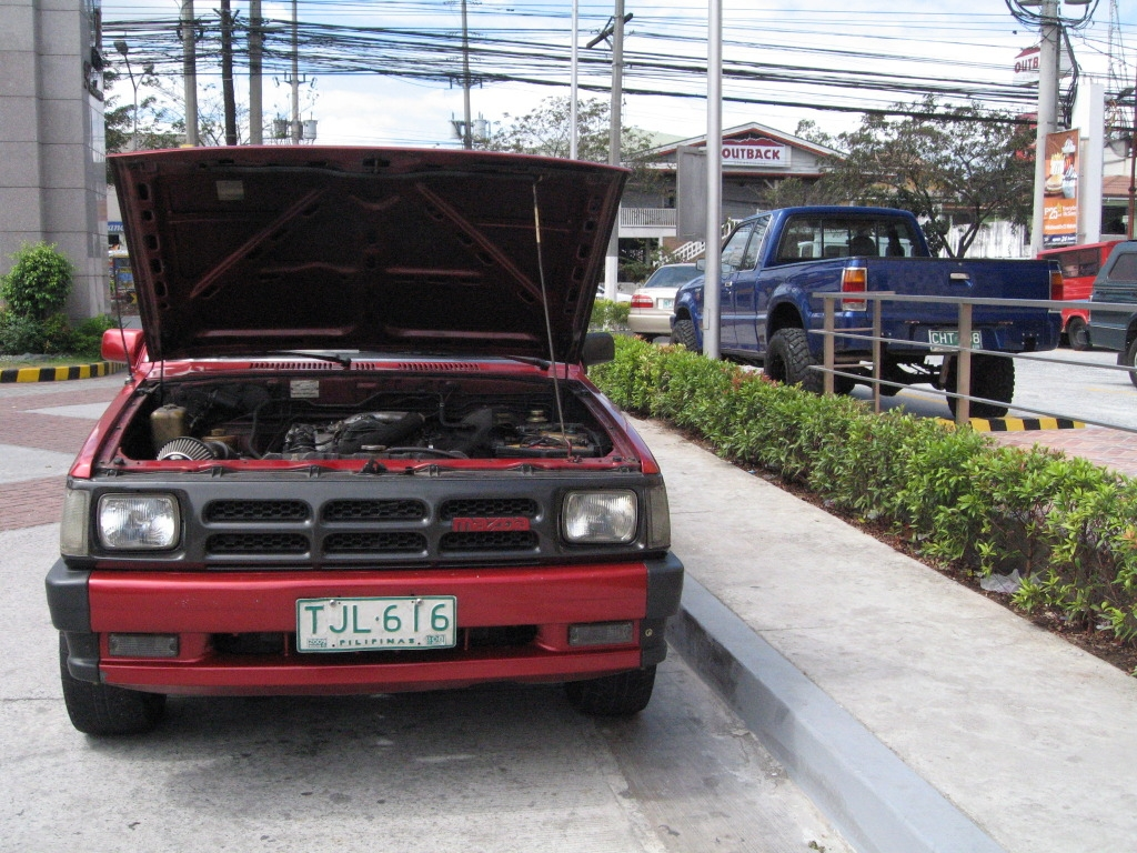 Mazda B-Series Pickup engine #4