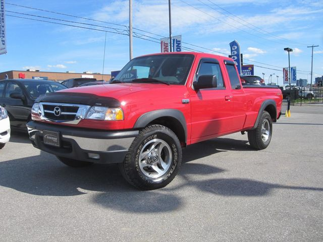 Mazda B-Series Pickup red #4