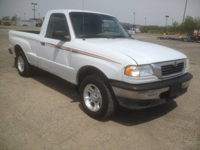 Mazda B-Series Pickup white #4