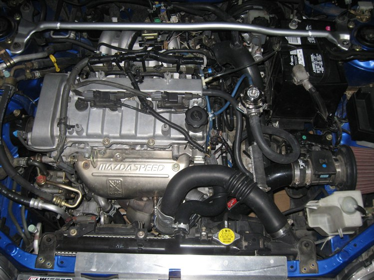 Mazda Mazdaspeed Protege engine #3
