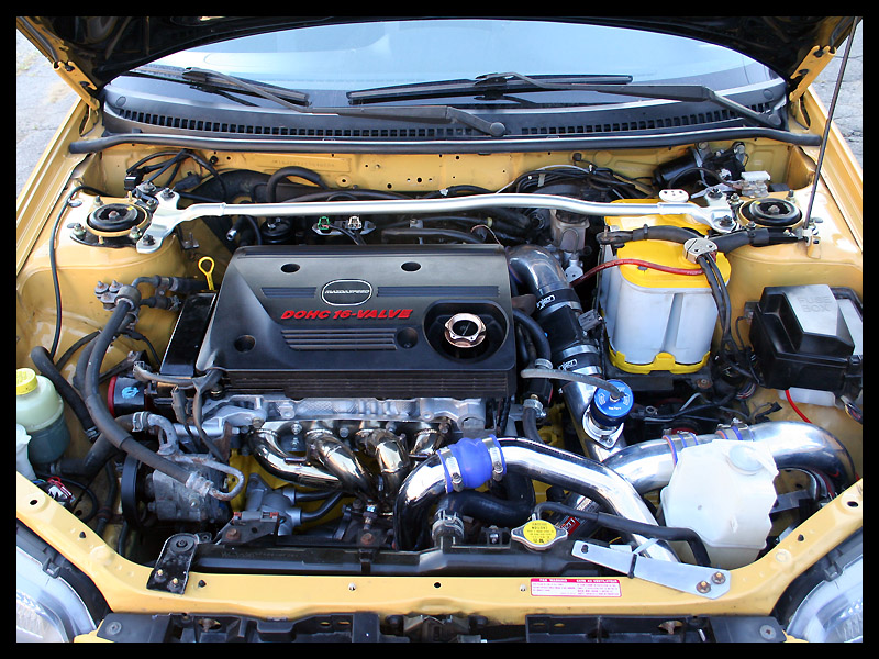 Mazda Mazdaspeed Protege engine #4