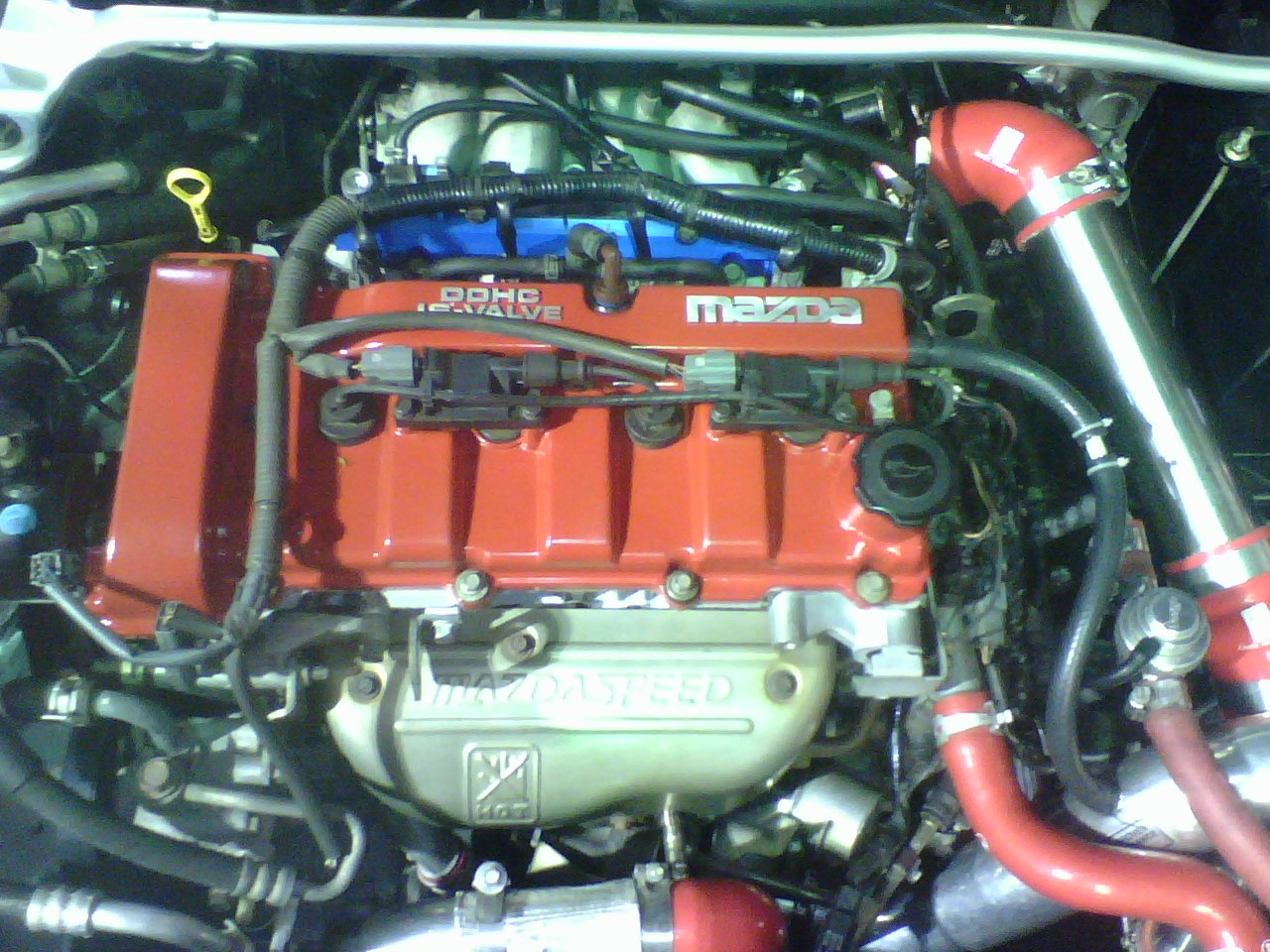 Mazda Mazdaspeed Protege engine #1