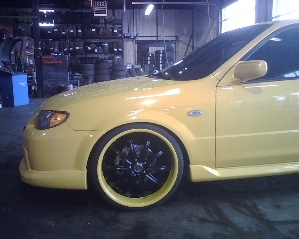 Mazda Mazdaspeed Protege wheels #4