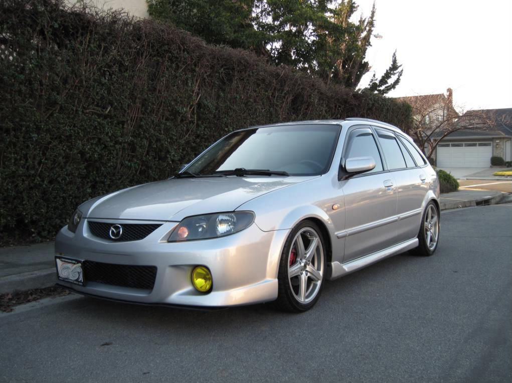 Mazda Mazdaspeed Protege wheels #1