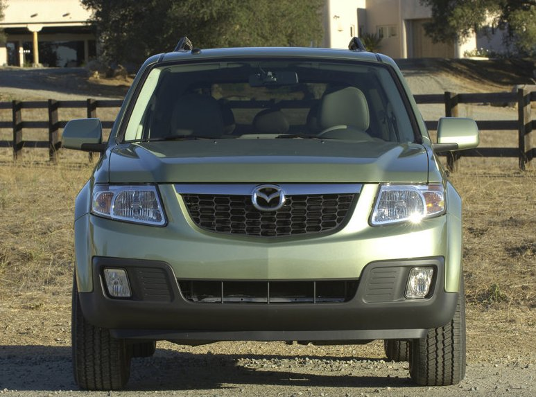 Mazda Tribute Hybrid black #4