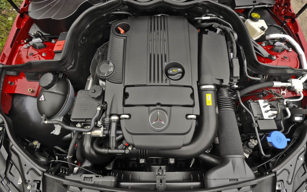 Mercedes-Benz C-Class engine #2