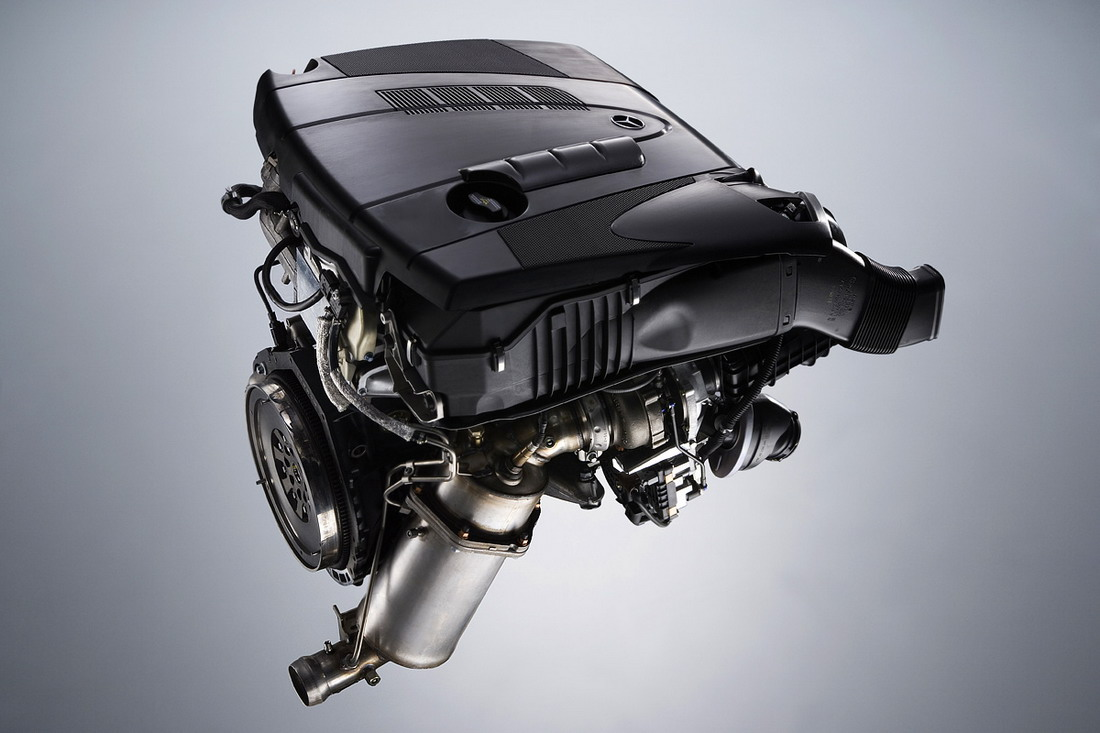 Mercedes-Benz C-Class engine #1
