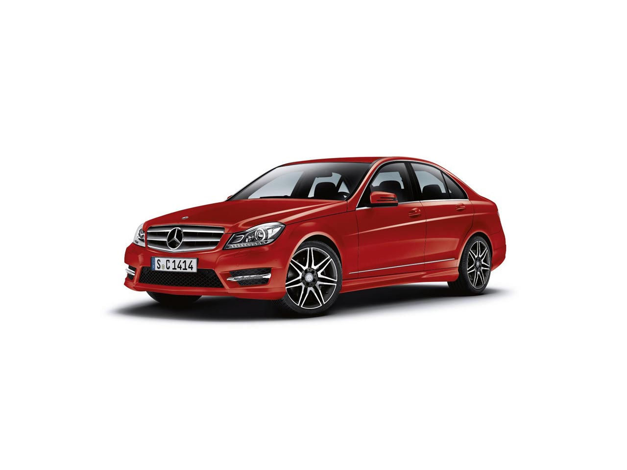 Mercedes-Benz C-Class red #3