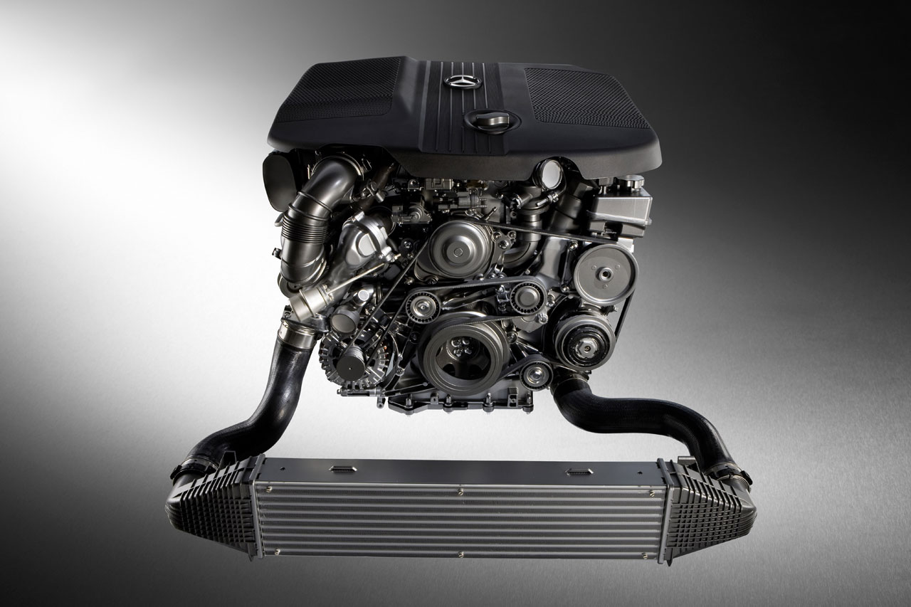 Mercedes-Benz E-Class engine #3