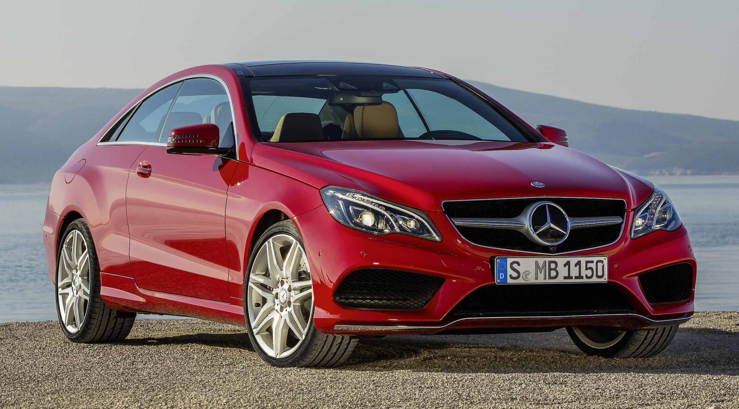 Mercedes-Benz E-Class red #3