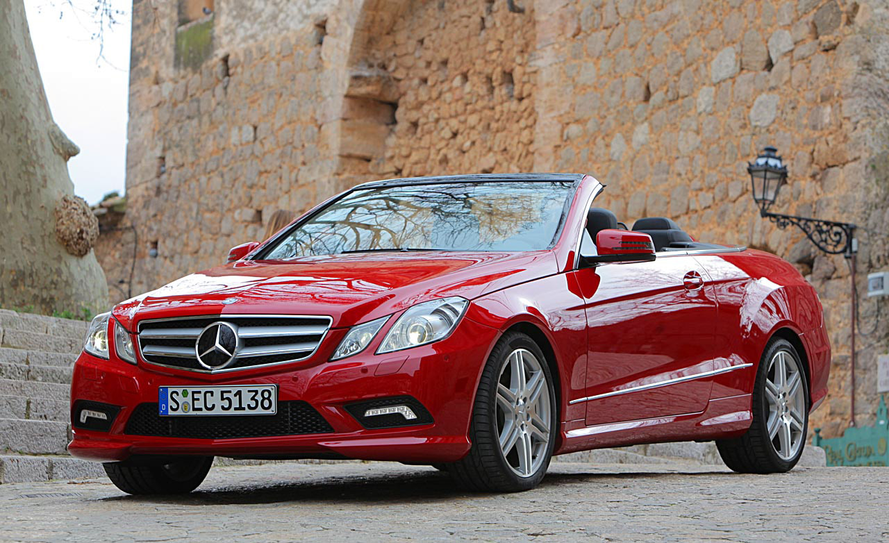 Mercedes-Benz E-Class red #1