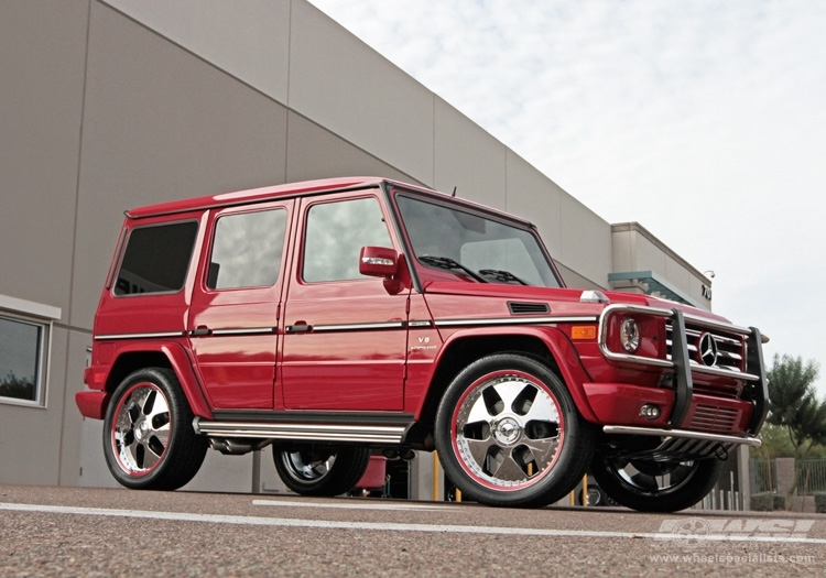 Mercedes-Benz G-Class red #2