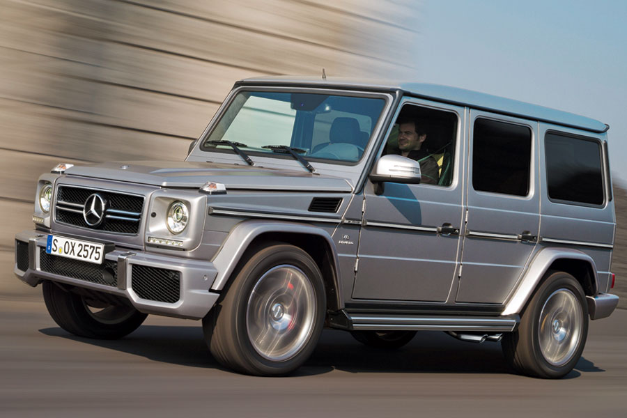 Mercedes-Benz G-Class red #3