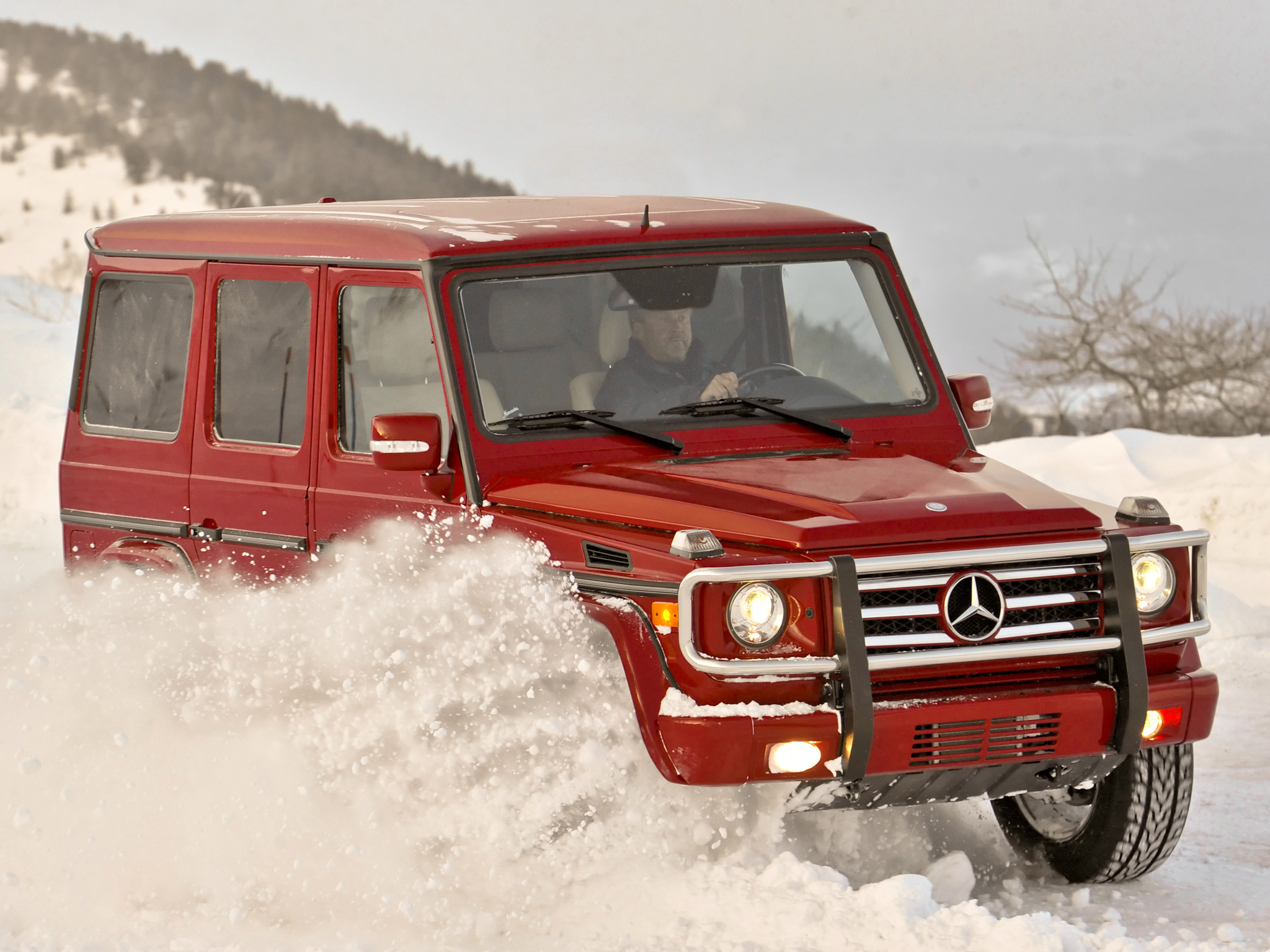 Mercedes-Benz G-Class red #1