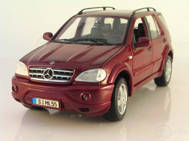 Mercedes-Benz ML55 AMG red #2