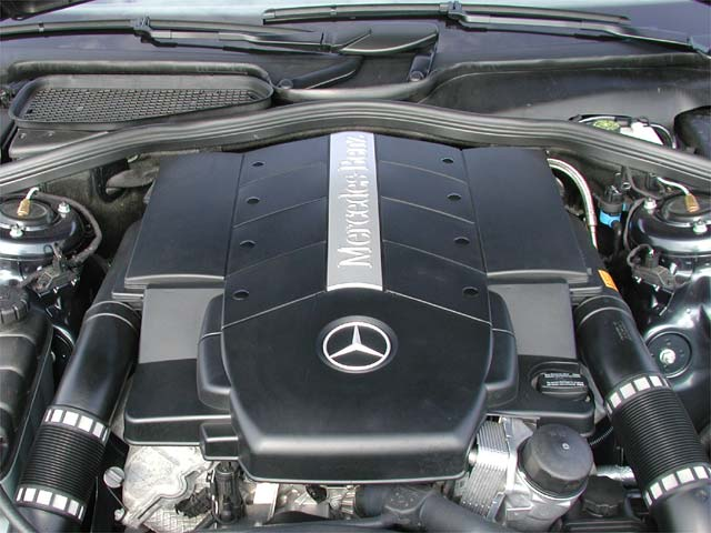 Mercedes-Benz S-Class engine #2