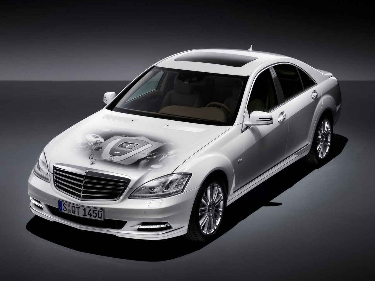 Mercedes-Benz S-Class engine #3