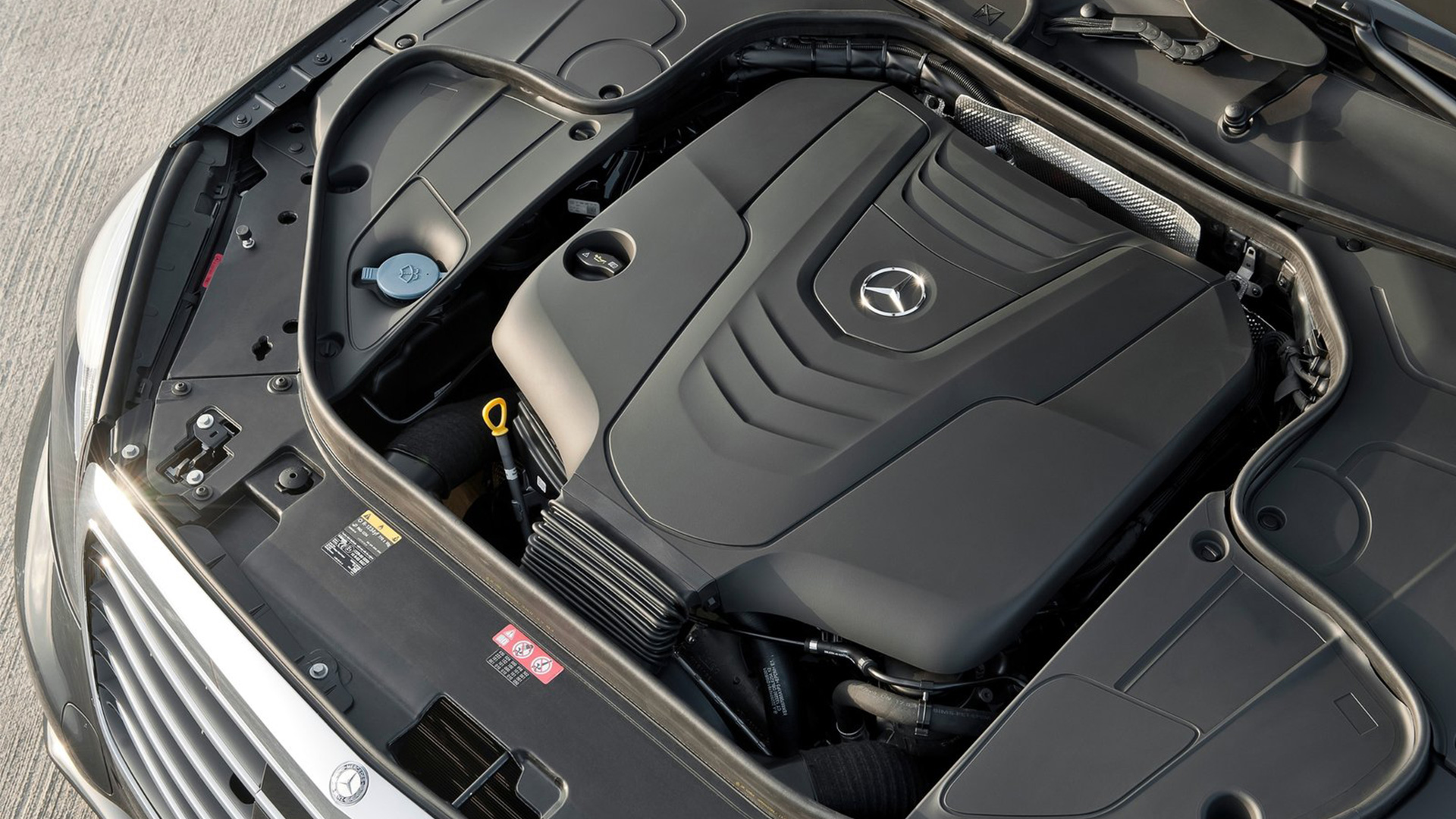 Mercedes-Benz S-Class engine #4
