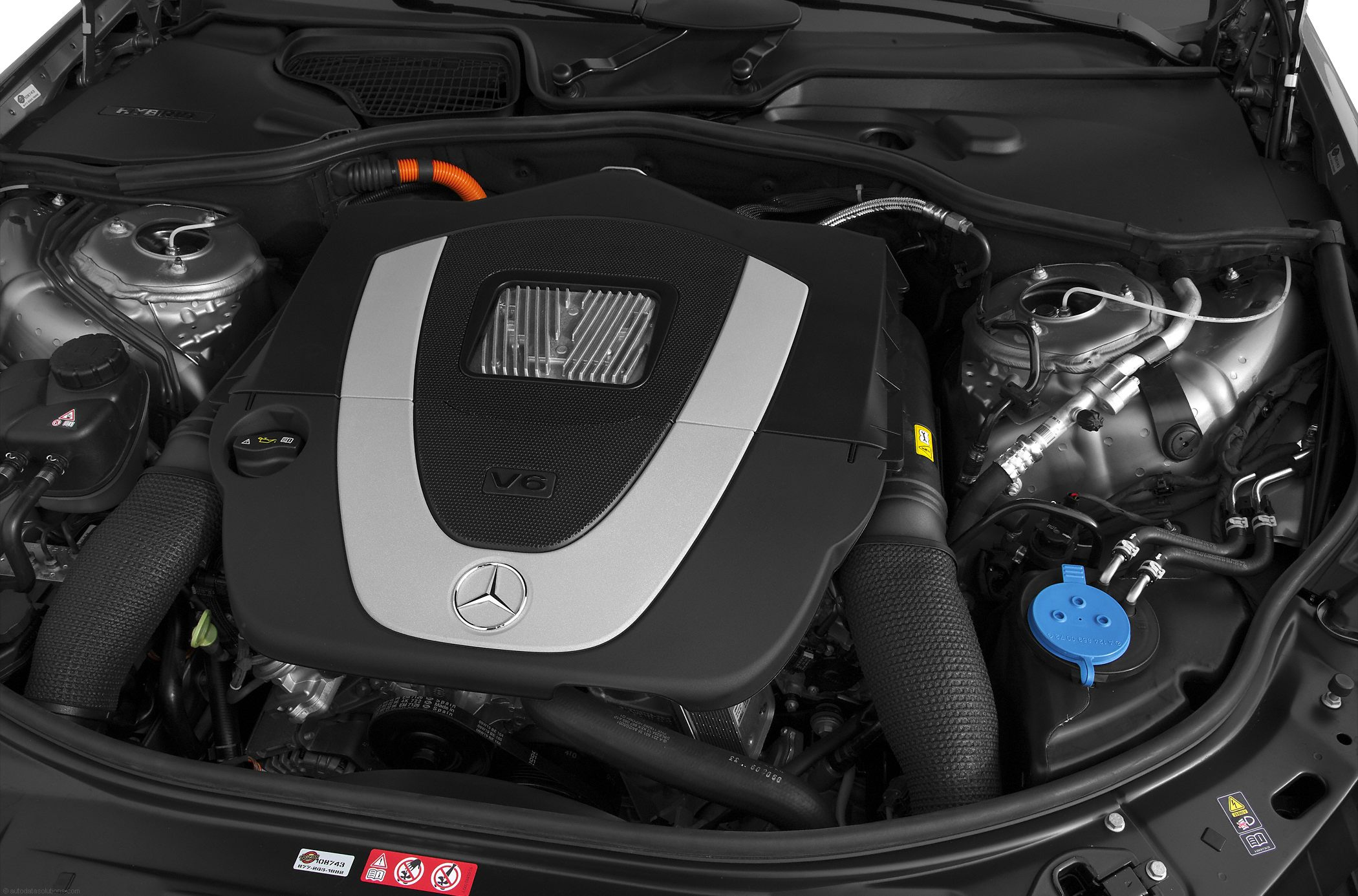 Mercedes-Benz S-Class engine #1