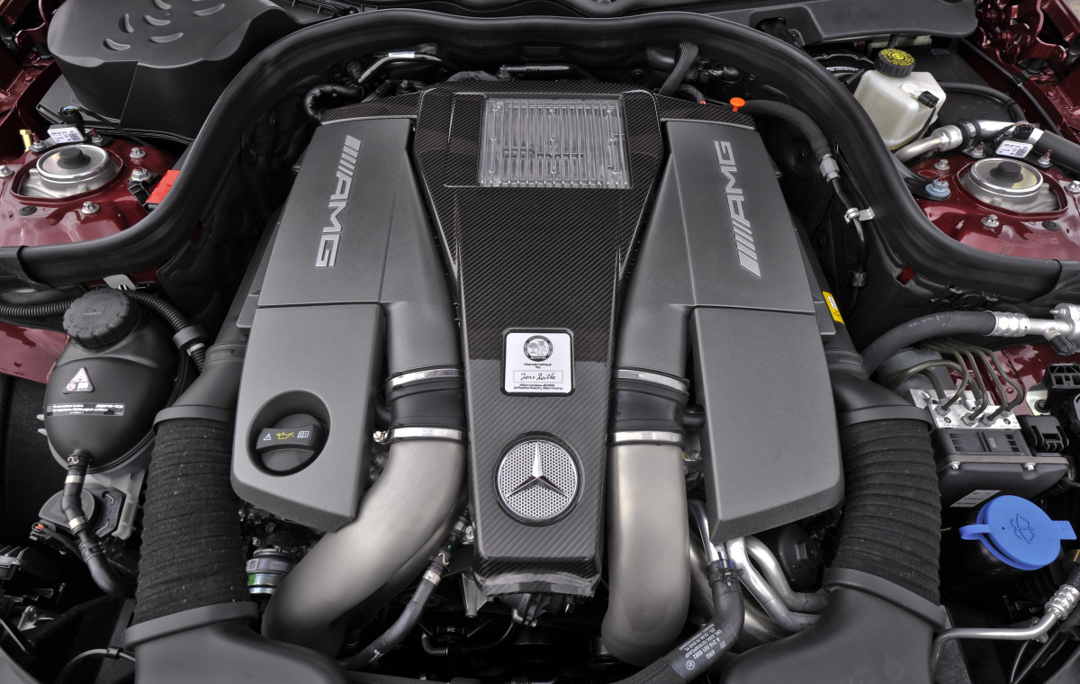 Mercedes-Benz SLK-Class engine #2