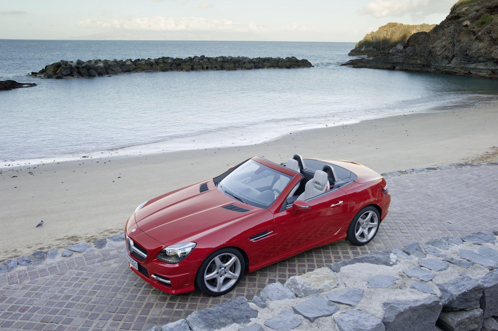 Mercedes-Benz SLK-Class red #3