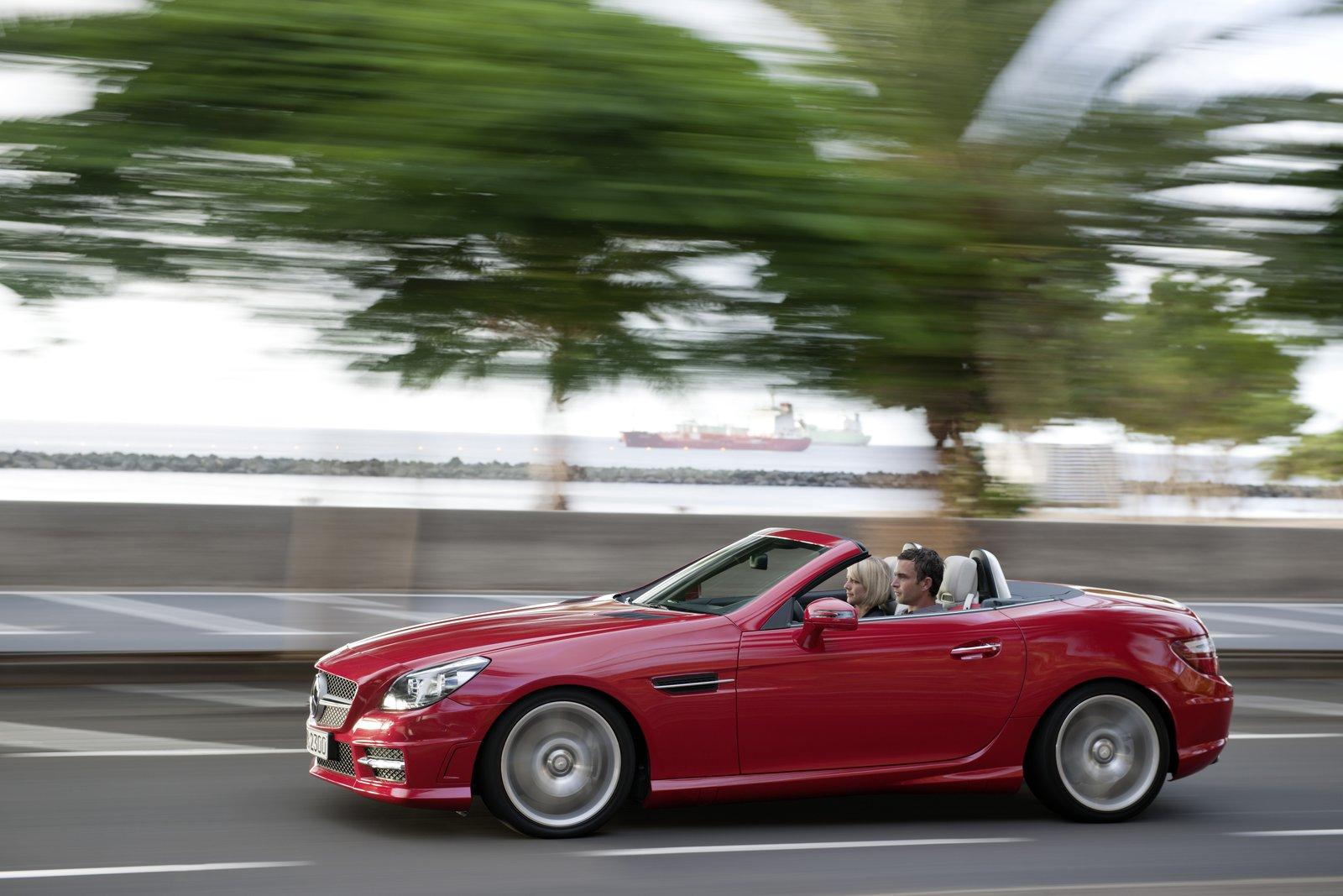 Mercedes-Benz SLK-Class red #4