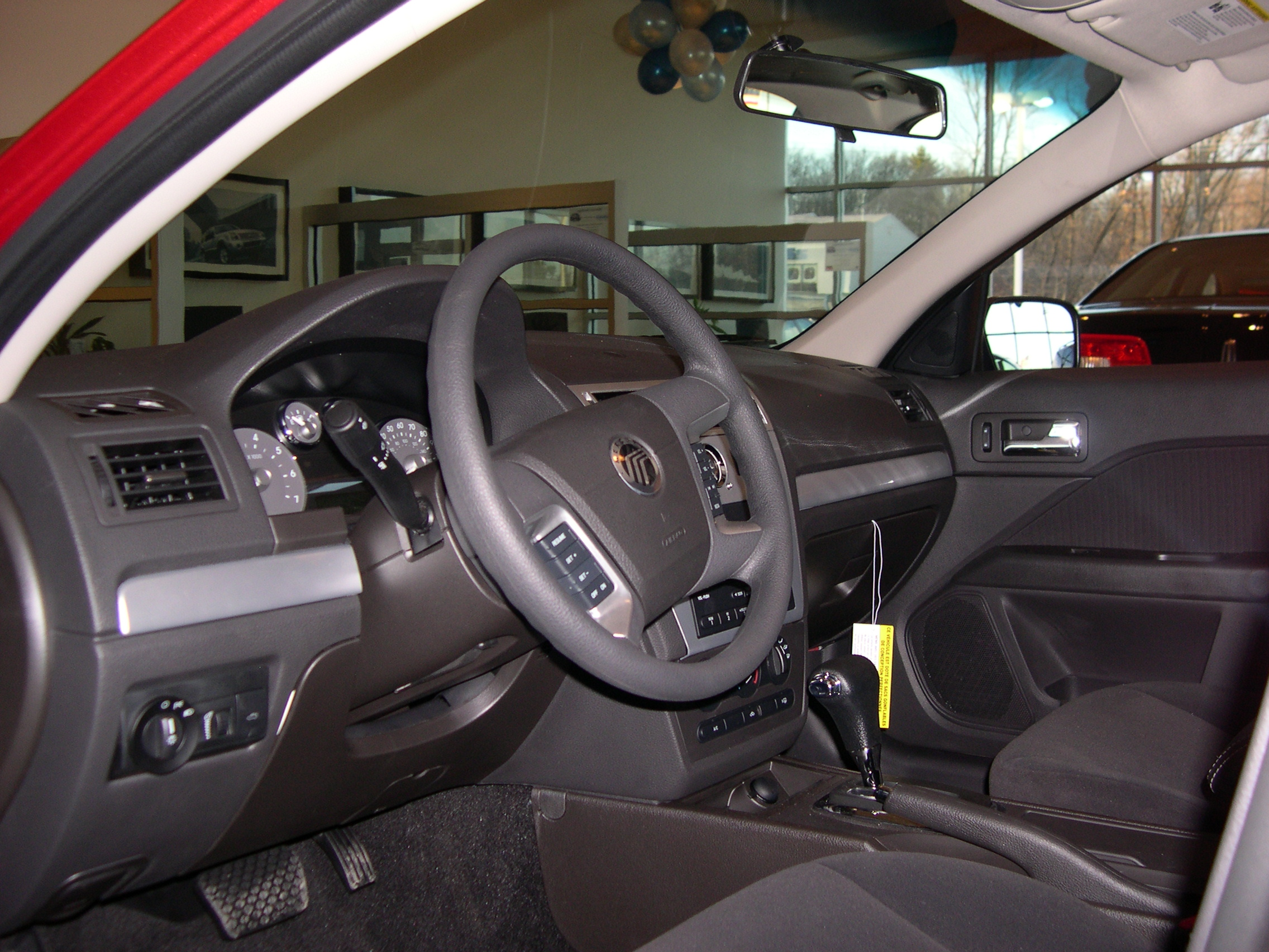 Mercury Milan interior #1