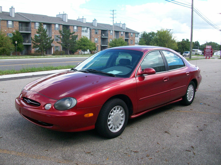 Mercury Sable red #3