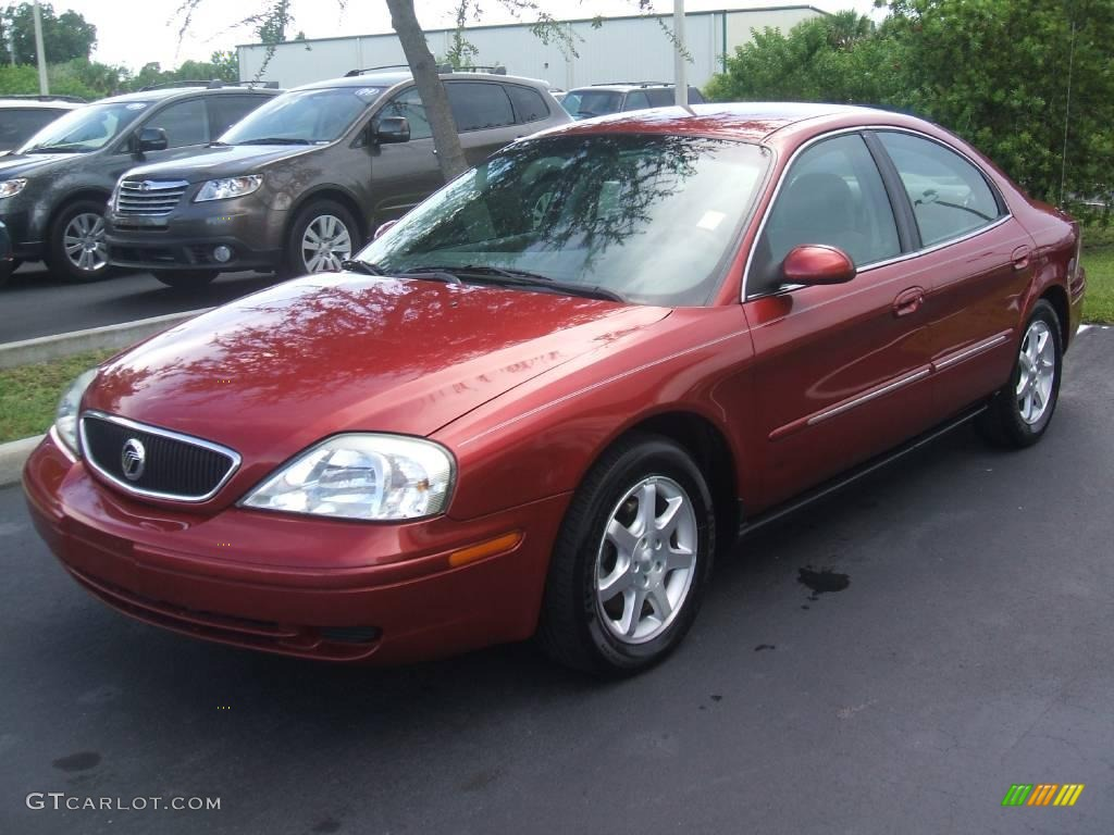 Mercury Sable red #1
