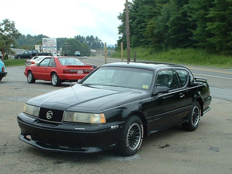 Mercury Topaz black #4