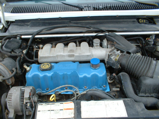 Mercury Topaz engine #3