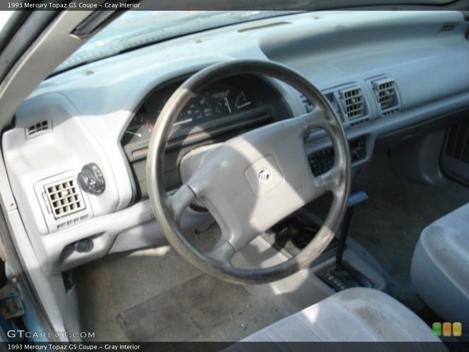 Mercury Topaz interior #3
