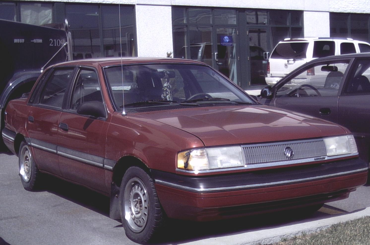 Mercury Topaz red #2